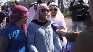 preview picture of video 'LES QATARIS DEBARQUENT À BASTIA !'