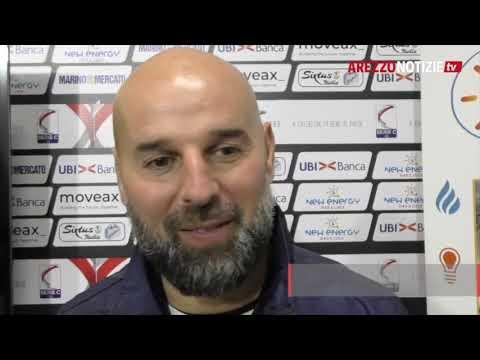 Arezzo-Matelica 2-0, intervista a mr Stellone
