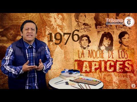 LA NOCHE DE LOS LÁPICES - Efemérides Jurídicas - TC174