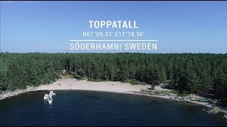 Safe approach to Toppatall port in Söderhamn, Sweden