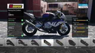 PS4 RIDE BMW S1000 RR Tuning