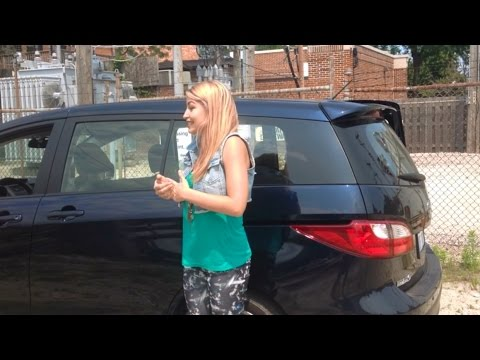 Behind the Wheel With Lindsay - 2014 Mazda 5 Grand Touring