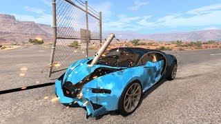 Satisfying Car Crashes Compilation #4 Beamng Drive (Car Shredding Experiment)