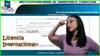 Como Solicitar La Carta Consular Para Licencia Internacional En Venezuela   ALGADINA