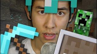 I found diamonds in Minecraft.. (ASMR)