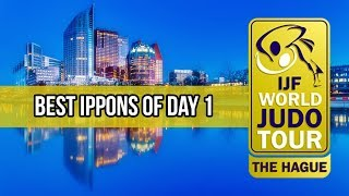 Best ippons in day 1 of Judo Grand Prix The Hague 2018