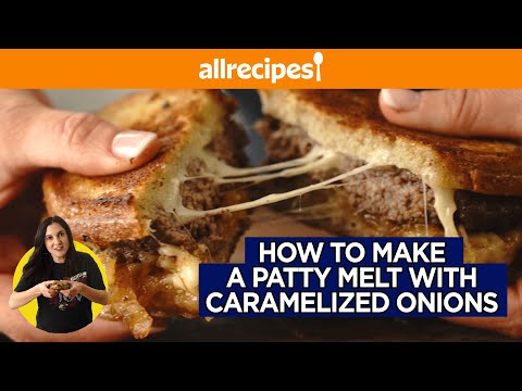 Juicy Diner-Style Patty Melts with Caramelized Onions | Easy Weeknight Dinner | You Can Cook That