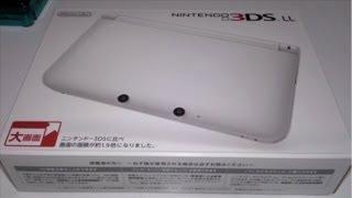 2代目の3DS!ニンテンドー3DSLLを開封・紹介&お詫び&初代3DSのその後
