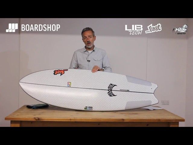 Lib Tech X Lost Puddle Fish Surfboard Review
