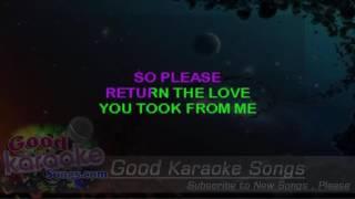 Somebody's Crying -  Chris Isaak (Lyrics Karaoke) [ goodkaraokesongs.com ]