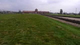 preview picture of video 'Auschwitz II-Birkenau concentration camp, Brzezinka'