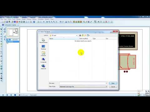 Proteus simulation of RPM measurement/Counting no  of pulses/sec
