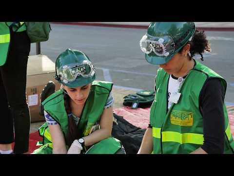 CERT at UCLA – Disaster Response Training - YouTube
