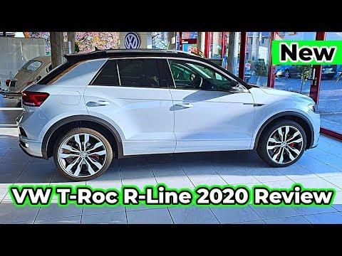 VW T-Roc R-Line 2020 Review Interior Exterior