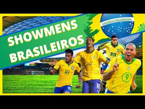 8 LENDAS DO FUTEBOL BRASILEIRO QUE SO VERDADEIROS SHOWMENS