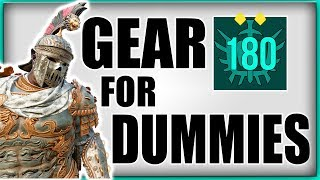 FOR HONOR | BEGINNERS GEAR GUIDE | EVERYTHING ABOUT GEAR IN DEPTH | DROPS, REFINED, BUILDS - dooclip.me