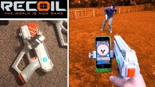 Recoil Laser Tag - Gameplay #5 1vs1 - How Recoil Works!   TanMan321Go