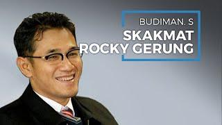 Budiman Sudjatmiko Bahas Rocky Gerung Perihal Ucapan Dungu