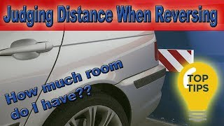 Judging distance when reversing | How far can I reverse? (Driving Test Tips)