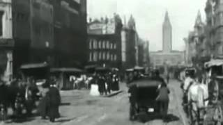 San Francisco's Market Street Over Popular Songs Of The Day (1906)