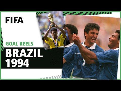 All of Brazil's 1994 World Cup Goals | Romario Bebeto & more!