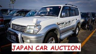 Japan Car Auction | 2000 Toyota Landcruiser Prado TX LWB 3.0 Turbo Diesel