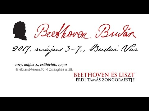Beethoven Budán 2017 - Beethoven és Liszt - video preview image
