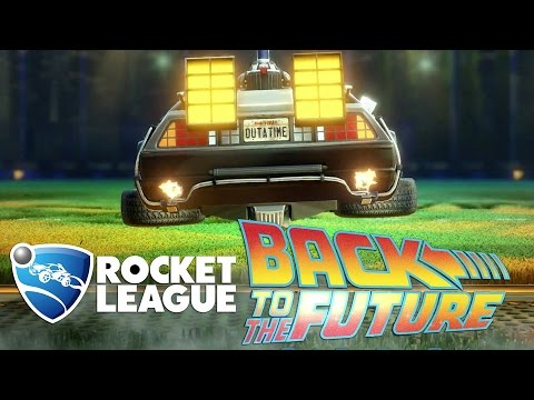 Rocket League Back to the Future Car Pack