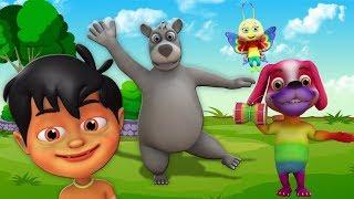 Kalu Madari Aaya | Hindi Nursery Rhymes | Balgeet In Hindi | Kids Channel India | कालू मदारी