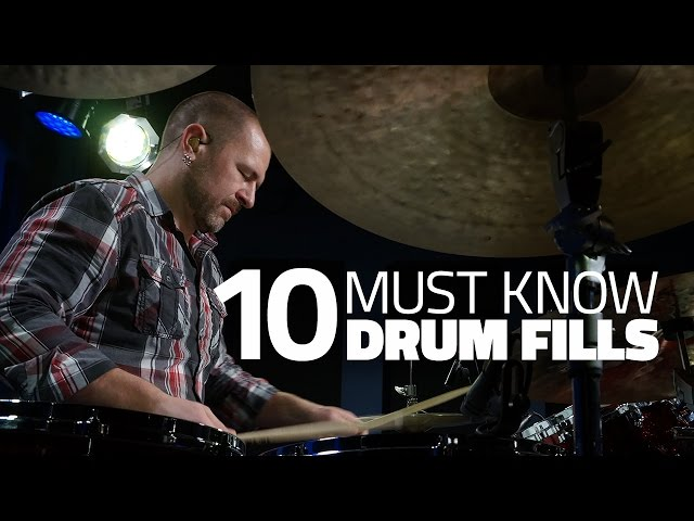 10 Drum Fills Every Drummer Should Know  - Drum Lesson (Drumeo)