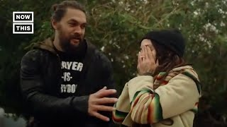 Jason Momoa Surprises Wife Lisa Bonet By Restoring Her First Car | NowThis