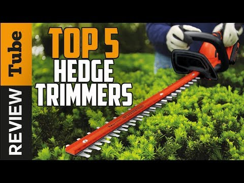 ✅Hedge Trimmer: Best Hedge Trimmer 2018 (Buying Guide)
