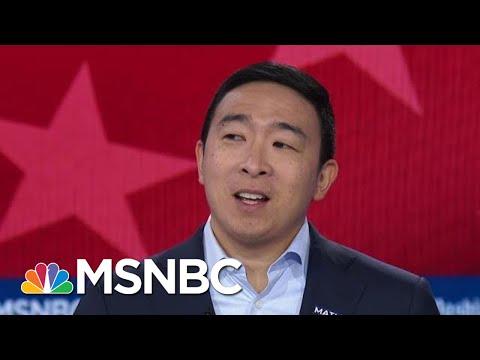 Andrew Yang: I'd Tell Vladimir Putin 'I'm Sorry I Beat Your Guy' | MSNBC