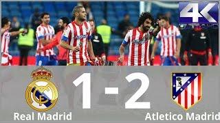 Real Madrid vs Atletico Madrid 1-2 Highlights & Goals (Final Copa Del Rey) 17/05/2013 (4K ULTRA HD)