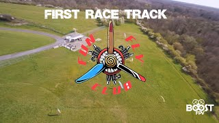 First FPV race track