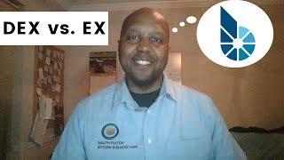 Bitshares Decentralized Exchange (DEX) vs EX