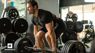 45,000-Pound Pull Challenge: Deadlifts & Pull-ups | IFBB Pro Craig Capurso by Bodybuilding.com