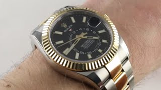 Pre-Owned Rolex Sky-Dweller 326933 Luxury Watch Review