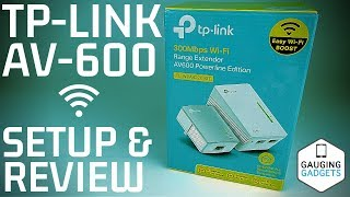 TP-Link AV600 Powerline WiFi Extender Review and Setup Tutorial