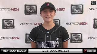 2022 Shiloh E. Croffoot 4.25 GPA, Athletic Catcher Softball Skills Video Firecrackers Miller/Baisdon