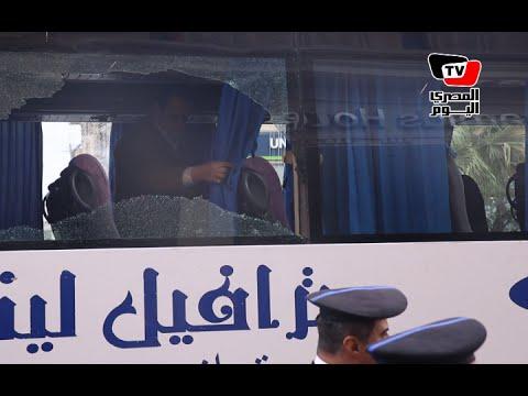 النيابة تعاين موقع «الهجوم المسلح» على أتوبيس وفندق بشارع الهرم