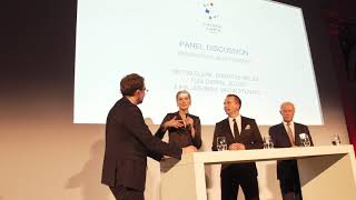 Crystal Cabin Awards 2019 Hamburg: Sir Tim Clark, Juha Jarvinen & Toni Garrn on PaxEx
