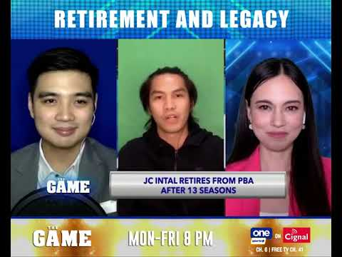 JC Intal on retiring from basketball