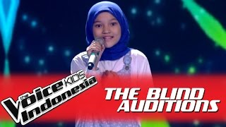 "Rachel ""The Show"" I The Blind Auditions I The Voice Kids Indonesia GlobalTV 2016"