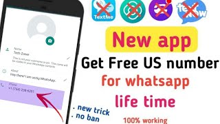 Create fake whatsapp account & Free virtual number for whatsapp 2021🔥| #1