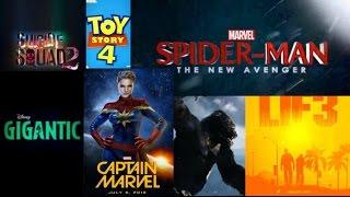 Upcoming Movies 2018 2022