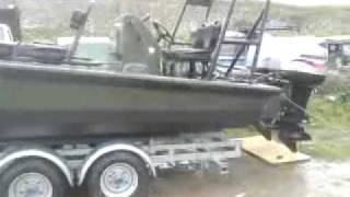 preview picture of video 'Very fast boat, rare to see! Rigid Raider Mk2 6.5'