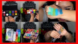 Maquillaje Para Face Paint Y Body Paint / Materiales / Alin Pescina Makeup