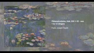 Flötenuhrstücke, Hob. XIX:1-32