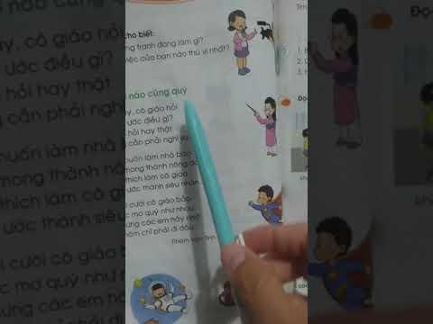 Tiếng việt 1-Ước mơ nào cũng quý-Cô Trương Huỳnh Mai